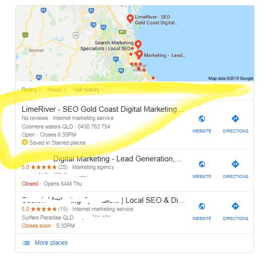 Local SEO LimeRiver-GMB