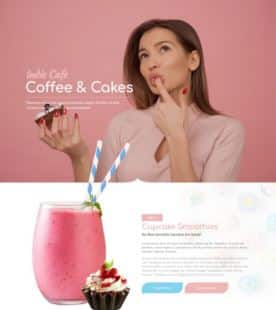 Coffee and Cakes website