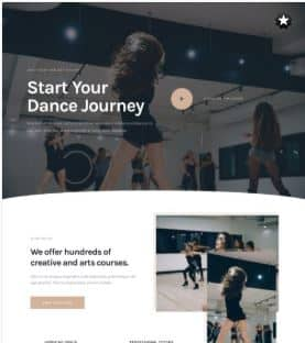 website Dance Studio