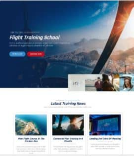 website Flight School