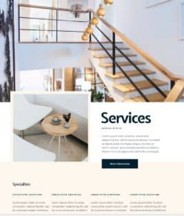website Interior Design