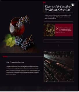 Vineyard website
