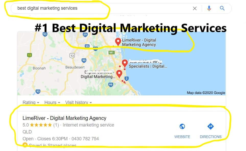 SEO Services Queensland | Sensational Ranking Results 1
