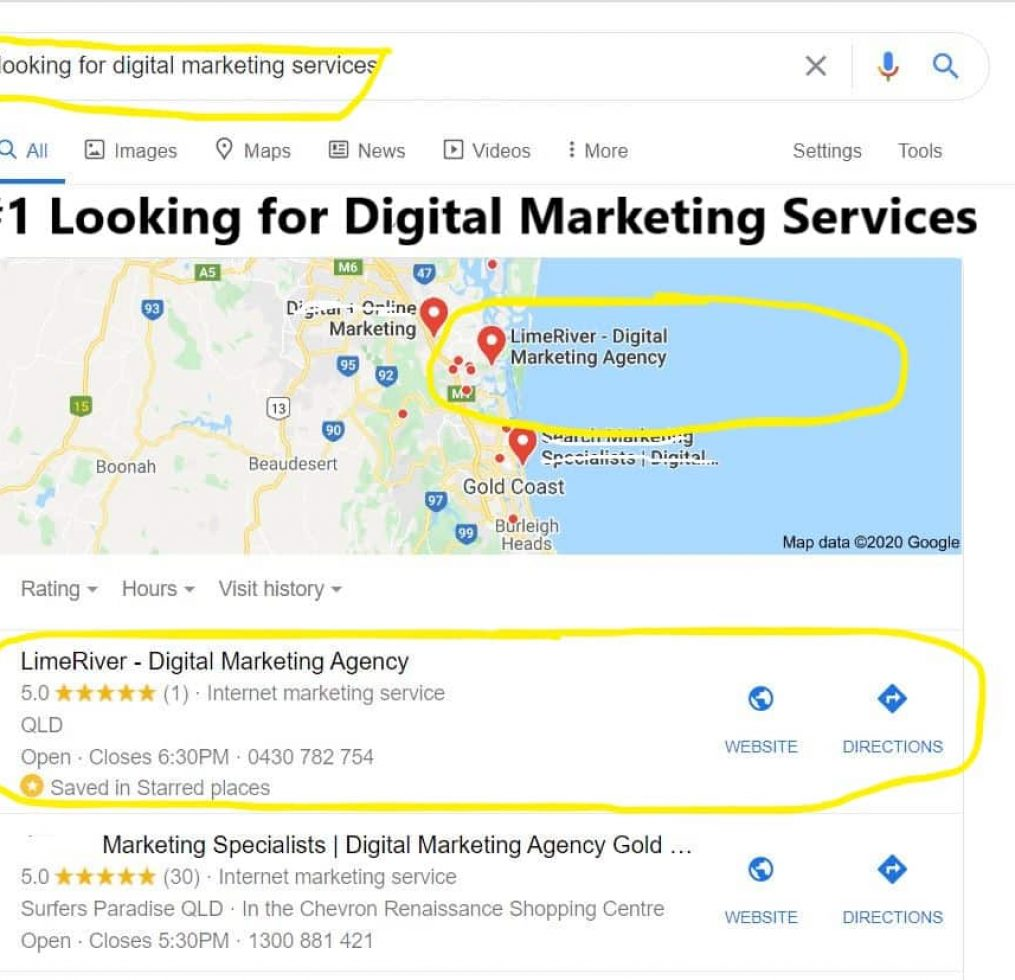 #1 Looking for Digital Marketing Services