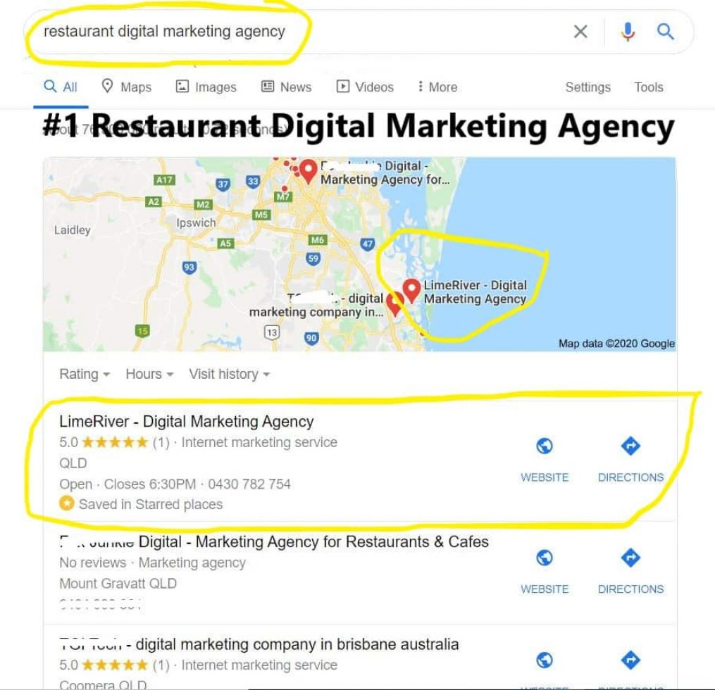 #1 Restaurant Digital Marketing Agency