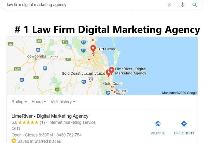 #1 law firm digital marketing agency