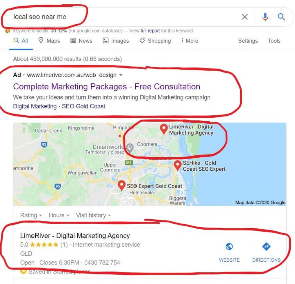 local seo near me